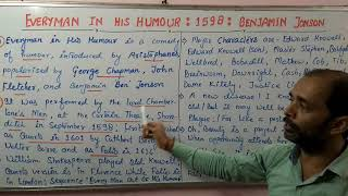 Lt Grade/ UGC - Everyman In His Humour: Shivam Dubey at English Kingdom, Katra Allahabad (9369542072