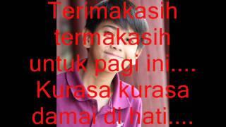Iqbaal Dhiafakhri Ramadhan- Terimakasih with Lyric.