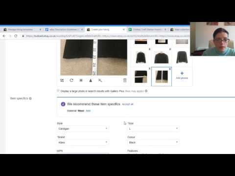 How To Create An EBay Listing Template