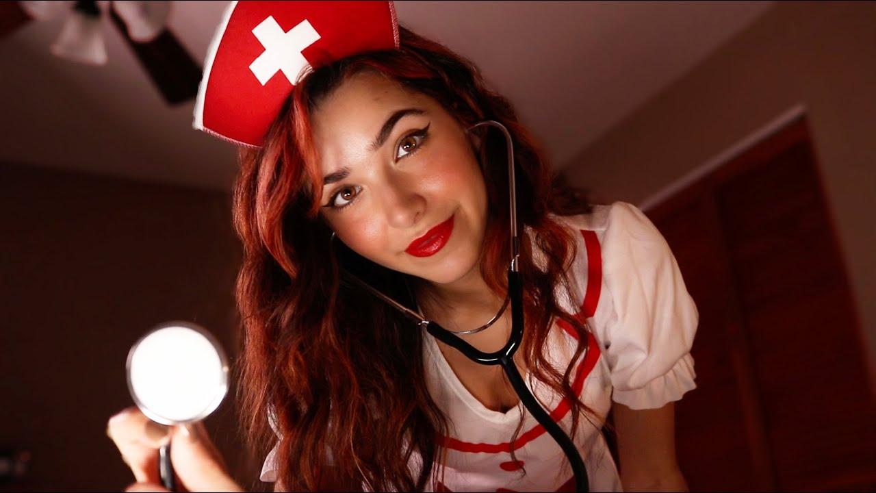 ASMR Night Nurse Checks On You 🛌