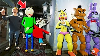 CAN THE ANIMATRONICS HIDE FROM BALDI