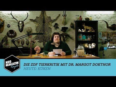 Die ZDF Tierkritik mit Dr. Margot Dokthor: Küken   NEO MAGAZIN ROYALE mit Jan Böhmermann - ZDFneo