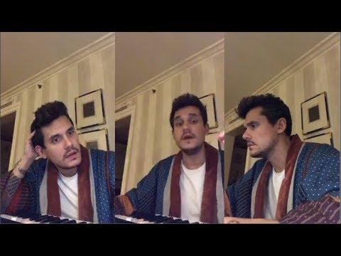 John Mayer Makes Music  | Instagram Live Stream |16 November, 2017 | Full Live