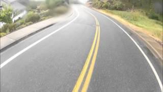 GoPro Fun In The Rain Longboarding