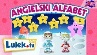 Alfabet po angielsku  Piosenka dla dzieci I Lulek.tv