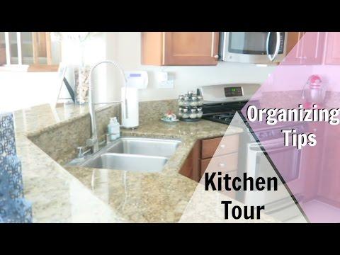 ORGANIZED KITCHEN TOUR! HOW TO ORGANIZE YOUR KITCHEN 9/28/2016