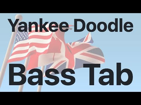 Learn Yankee Doodle on Bass - How to Play Tutorial