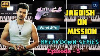 Jagdish On Mission BGM   Episode - 5   Breakdown Series   Thuppaki   Kandar Guru   Music Bugs   4K