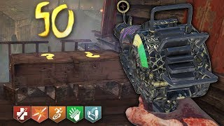I died on round 35 again... (Call of Duty Black Ops 2 Zombies)