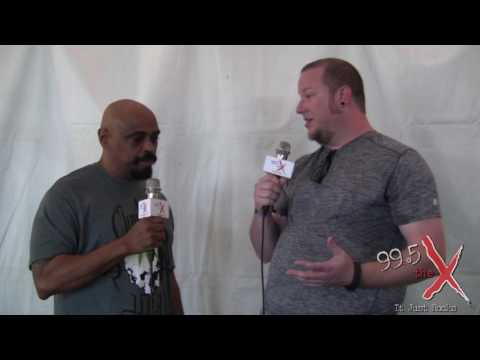 Cypress Hill Interview - Carolina Rebellion 2016 - 99.5 The X