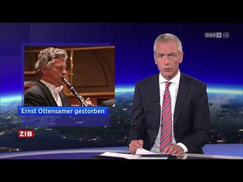 Spät ZIB 23.7.2017 - Ernst Ottensamer gestorben