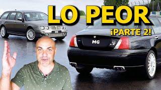 RANKING: LOS 10 PEORES COCHES DEL SIGLO: ¡¡Los que me faltaban!! - (PARTE 2)