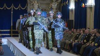 Noi uniforme pentru militari, de Ziua Armatei Române