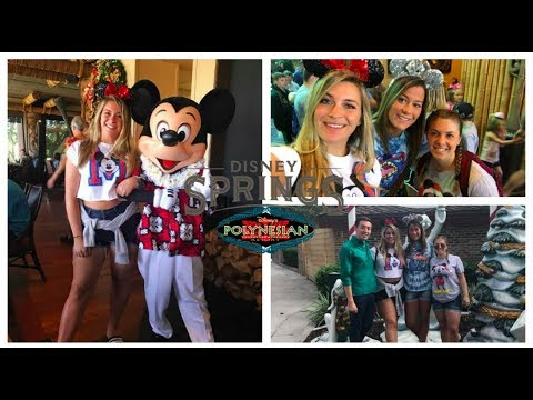 Breakfast at Ohana and Shopping at Disney Springs   Disney Day Five