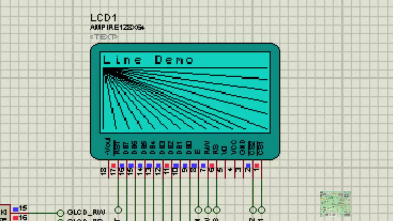 Graphical Lcd 128x64 Library Demo