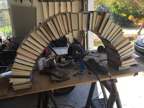Our DIY Wedding Book Arch