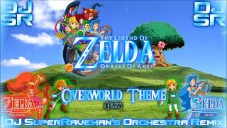 Download The Legend Of Zelda: Oracle Of Ages - Overworld Theme (Past) [DJ SuperRaveman's Orchestra Remix] MP3 song and Music Video