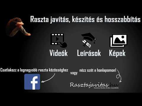 Raszta haj hosszabbítás XII. - Rasztajavitas.hu