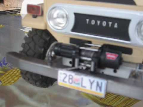 How To Make A Rc Winch For A Home Made 1 8 Scale 4wd Truck Youtube