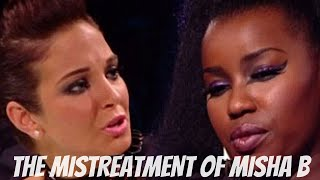 THE MISTREATMENT OF MISHA B ON X FACTOR YouTube Videos