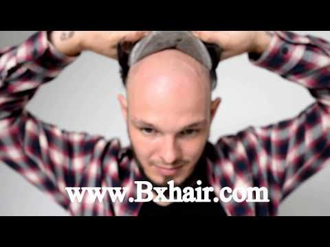Hair Pieces Mens Hair Replacements Human Hair Full Lace Base From BX Hair