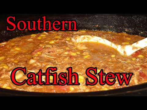 Cooking Southern Catfish Stew