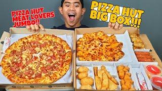 GILA!! TANBOY KUN MAKAN PIZZA JUMBO DI TAMBAH BIG BOX DARI PIZZA HUT