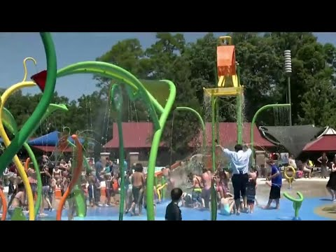 Dodge Park in Sterling Heights reopens with new splash pad, farmers market after $45M project