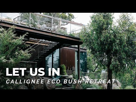 Luxury Eco Bush Retreat w Loft Bed & Lap Pool! 🍃💦 Australian Home Tour: Callignee II, Let Us In EP29