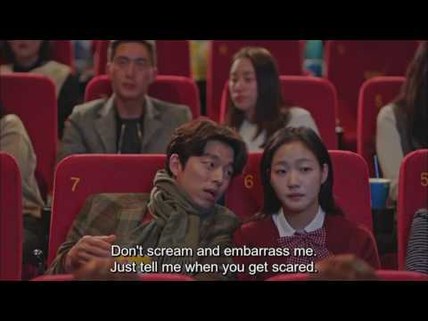 Goblin (Gong Yoo) Watching 'Train to Busan'