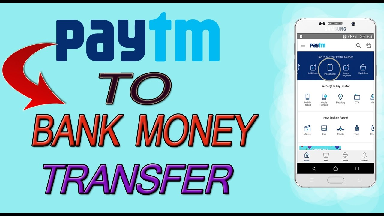 How To Transfer Money From Paytm Wallet To Bank Account || Paytm ...