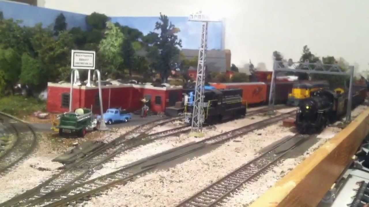 Atlas Model Rr Co The Yardmaster 4x8 Layout Dcc Conversion Wiring Diagram Ho Scale Youtube