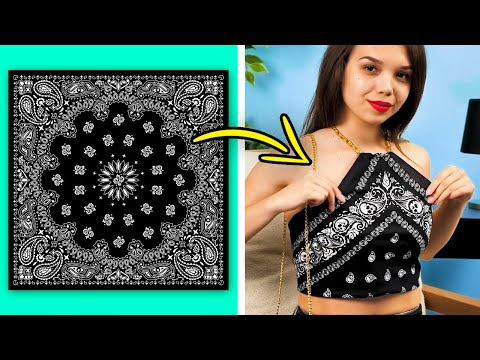 35 CREATIVE FASHION TIPS || EASY CLOTHING LIFE HACKS AND DIY IDEAS