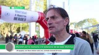 Se llevó a cabo una maratón por la Memoria y la Soberania de Malvinas