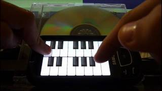 sweet chield o mine on android piano keyboard app score