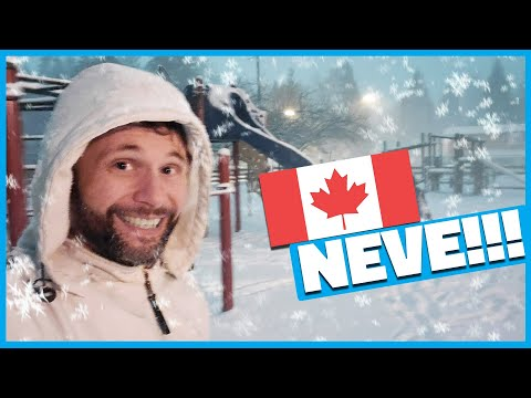 NEVE no CANADÁ!!!!