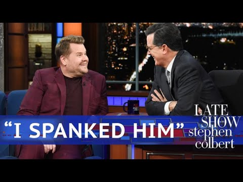 Corden On Trump:  I Spanked Him