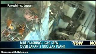 CRITICALITY  Super Dangerous!  Fukushima Blue Flashing Light From Reactor!