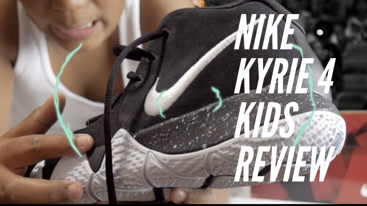 discount 14069 cee56 Nike Kyrie 4 KIDS Review! and comparison to Nike Kyrie 3's!