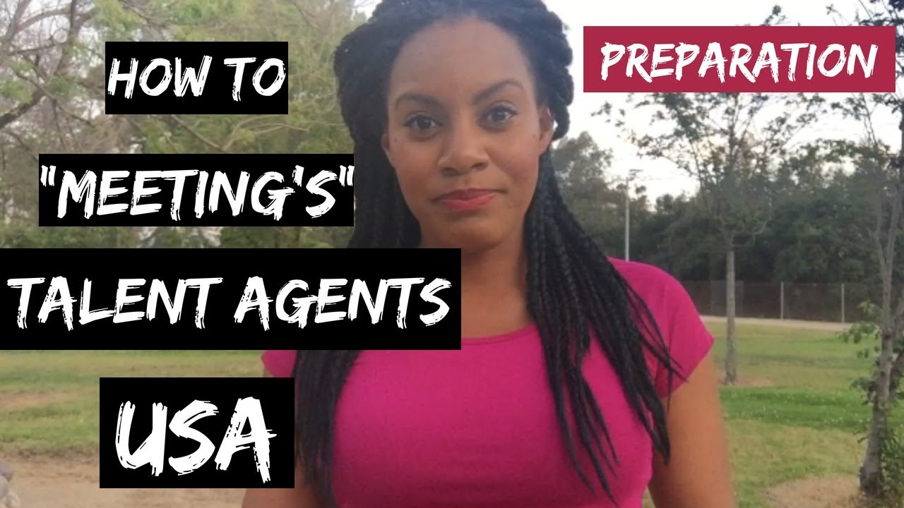 how to find a talent agent
