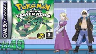 Dama de hielo y marinero de los dragones/Pokémon Esmeralda #49