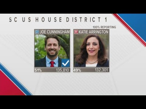 Joe Cunningham wins South Carolina US House seat in upset
