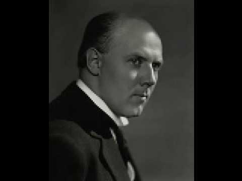 Walter Gieseking (1895-1956) plays Brahms Intermezzo op.119-2 Rec.1939