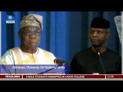 Osinbajo, Obasanjo Attend Biafra At 50