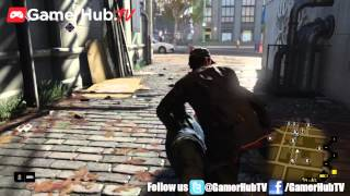 Watch Dogs PlayStation 4 Gameplay Trailer From Ubisoft