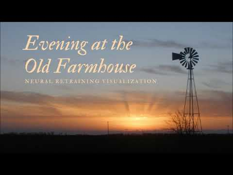 Evening at the Old Farmhouse - A Sleep Visualization