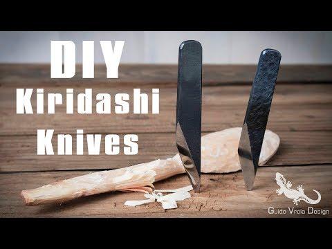 Knife Making | DIY Kiridashi Knives