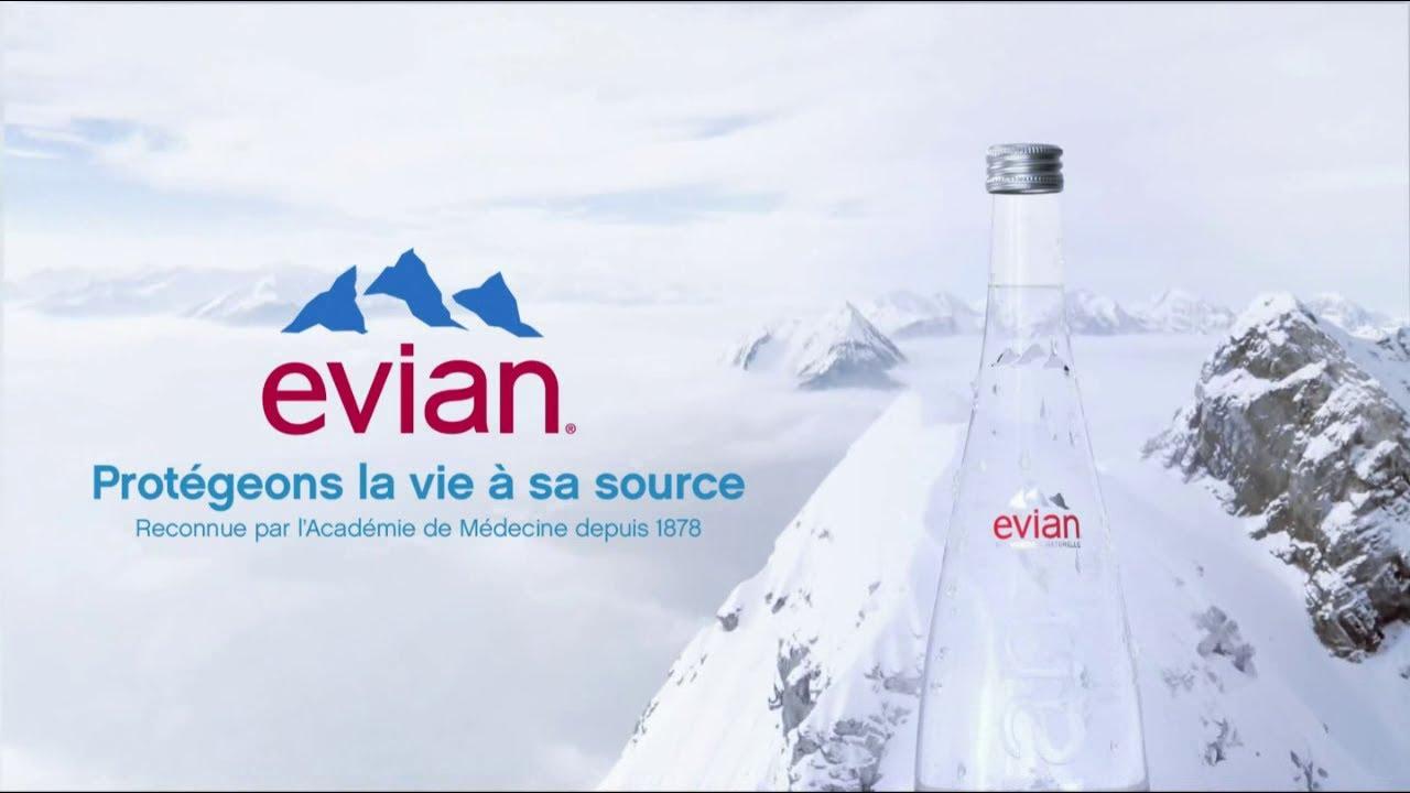 """Musique de la pub Evian """"protégeons la vie à sa source""""  2021"""