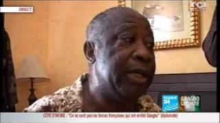 Côte d'Ivoire : Premières images de Gbagbo à l'hôtel du Golf