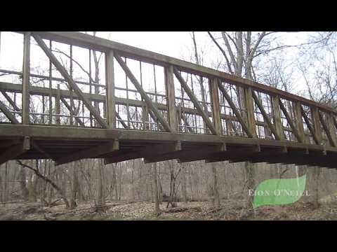 Walking tour of the Four Mills Nature Reserve   Ambler, Pennsylvania